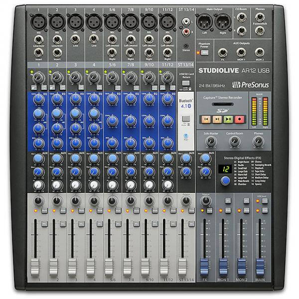 Custom Presonus - StudioLive AR12 USB 14-Channel hybrid Performance and Recording Mixer #1 image