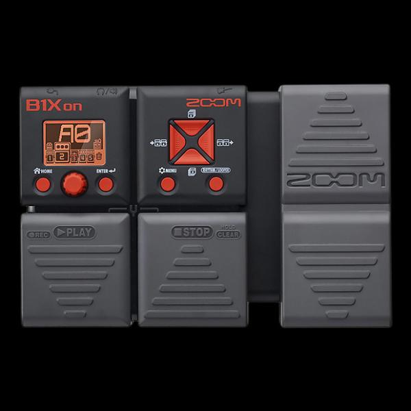 Custom Zoom B1Xon Bass Effects Pedal with Expression Pedal - Repack with 6 Month Alto Music Warranty! #1 image