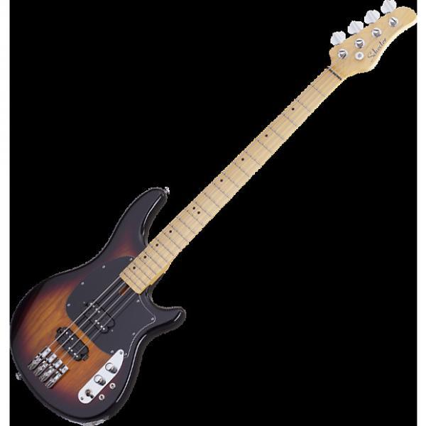 Custom Schecter CV-4 Electric Bass 3-Tone Sunburst #1 image