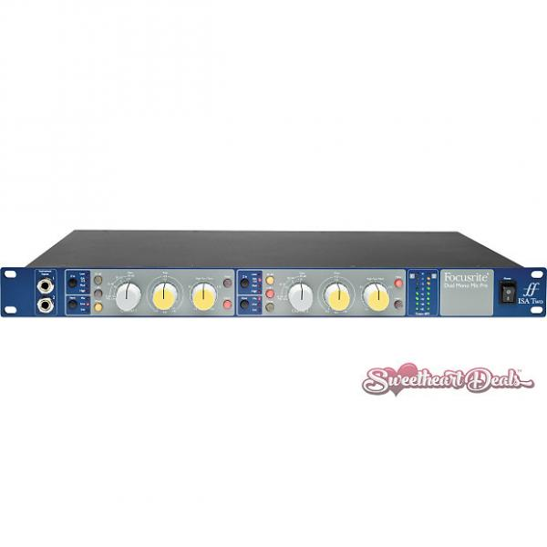 Custom Focusrite  ISA Two Dual Microphone Preamp - 2 Channel Rack Mount Mic-Pre #1 image