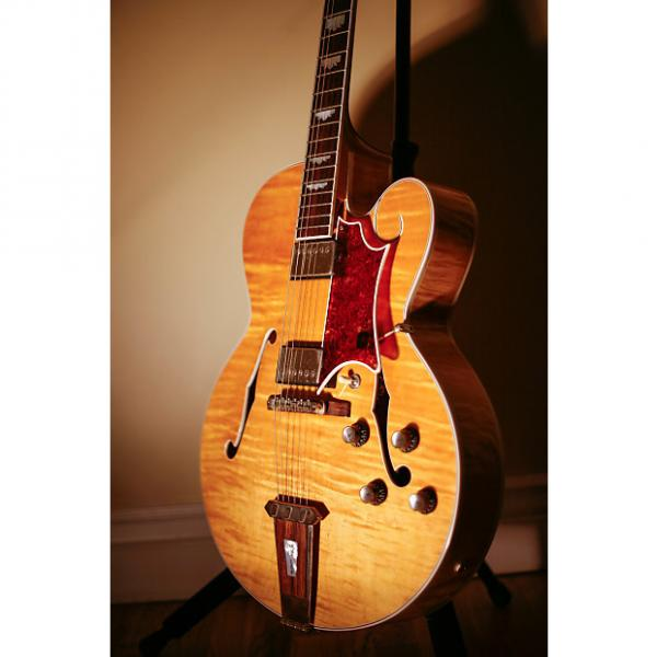 Custom Gibson Tal Farlow custom shop 1998 blonde maple #1 image