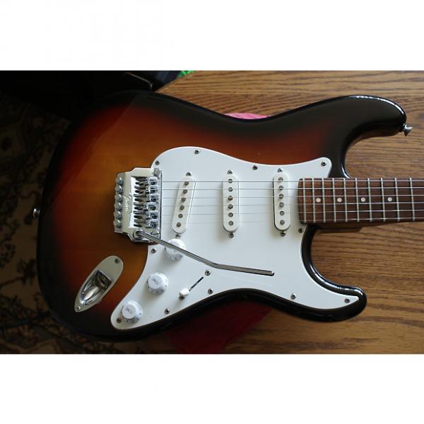 Custom Fender  Contemporary W/Texas Specials 1986 3 Color Sunburst, Zebra Fender Case #1 image