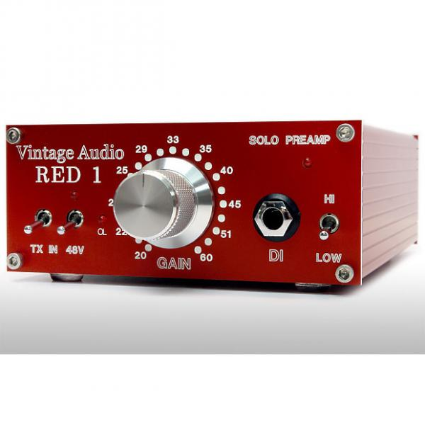 Custom Vintage Audio: Red Solo Preamp, Desktop Boutique Mic Preamp and Di! #1 image