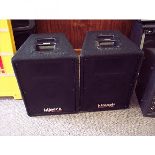 Custom Super Rare Klispch KP 2002 C2 Pro PA Speakers Heresy III woofer's #1 image