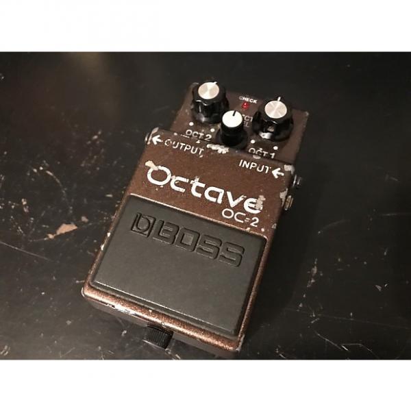 Custom Boss OC-2 Octave  Brown #1 image