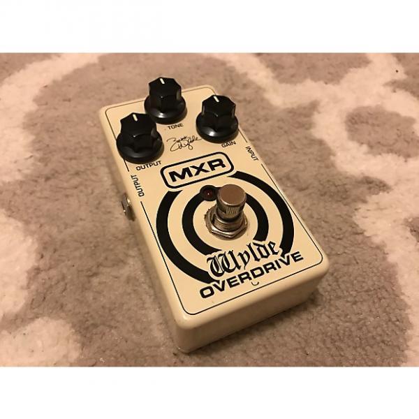 Custom MXR Zach Wylde Overdrive White #1 image