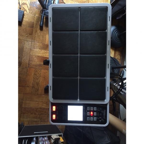 Custom Roland SPD-30 Octapad 8-Zone Digital Percussion Pad 2015 White #1 image