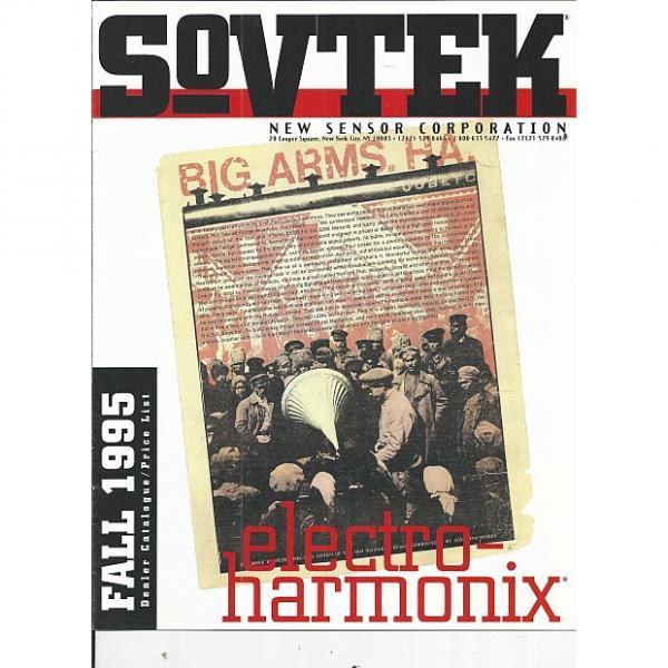 Custom Sovtek-Catalog, Fall 1995 #1 image