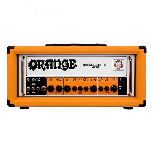 Custom Orange Rockerverb MkIII Amplifier Head 100 Watts #1 image