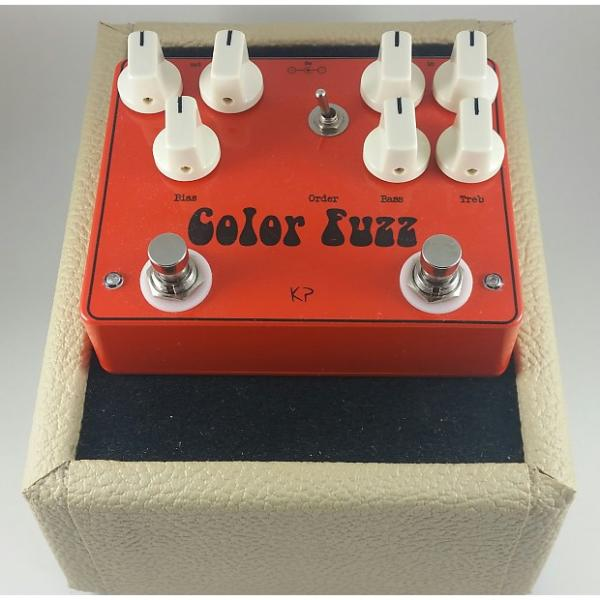 Custom kirshman pedals Color Fuzz (Colorsound Overdriver & Germanium Fuzz Face Clones) #1 image