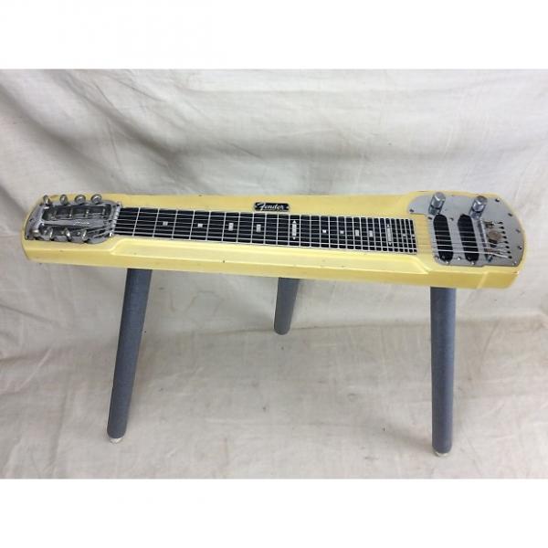 Custom Vintage Fender Deluxe 8 String Table Steel Lap Steel Electric Guitar Circa 1964 Blond Stringmaster #1 image