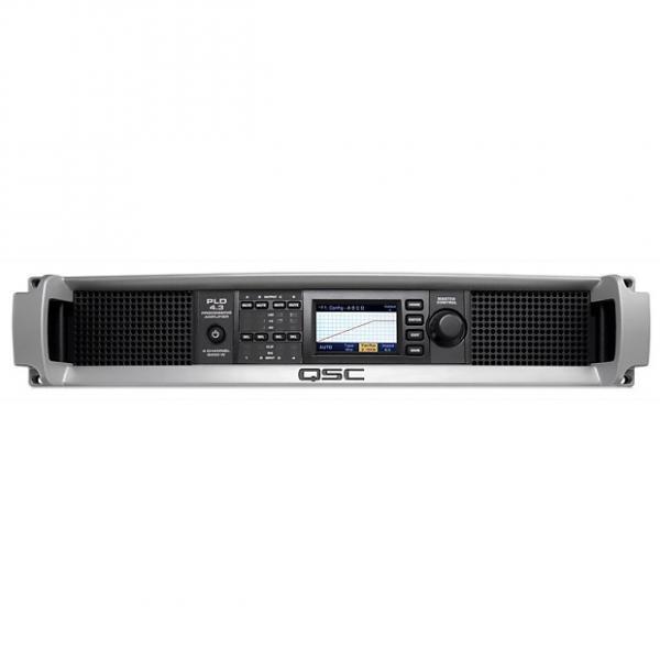 Custom QSC PLD 4.3 Four-Channel Power Amplifier #1 image