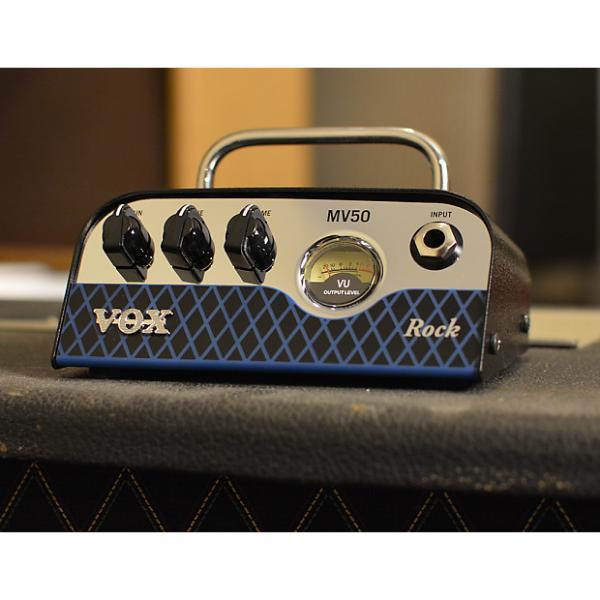 Custom Vox MV50 Rock 50 Watt Amplifier Head Ultra Light Weight Micro Amp IN Hand w FREE Shipping Included #1 image