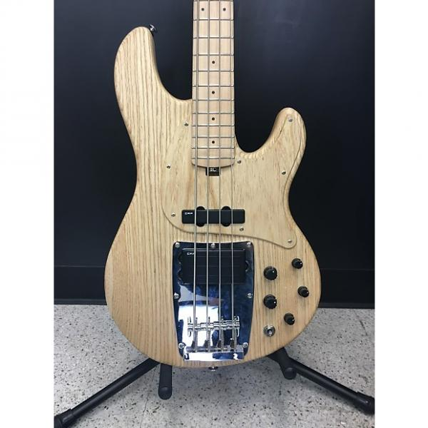 Custom Ibanez Premium ATK810E 4-String Electric Bass Guitar  Flat Natural #1 image