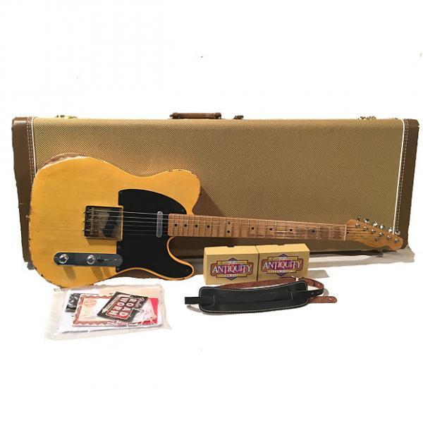 Custom Relic TW52 Fender 52 Reissue Blackguard Telecaster Duncan Antiquity Pickups #1 image