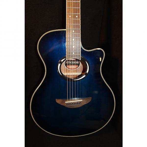 Custom Yamaha  APX 500 III Faded Blue Burst #1 image