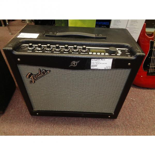 Custom used Fender Mustang III V.2 guitar combo amplifier with footswitches #1 image