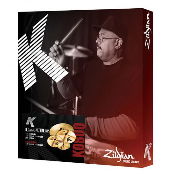 Custom Zildjian K Cymbal Set 14/16DTC/20 Free 18 DTC #1 image
