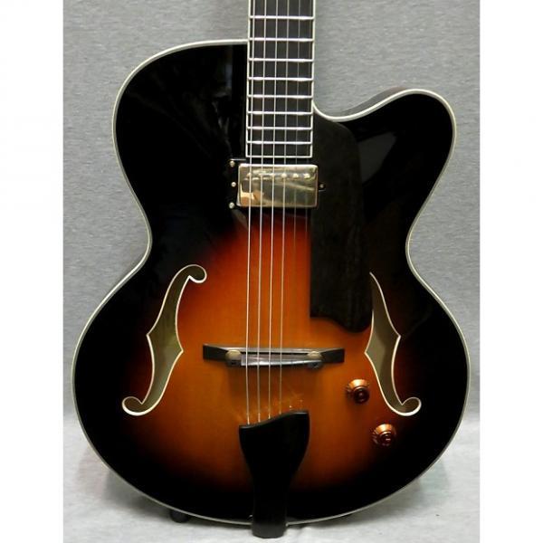 Custom Eastman  AR503CE-SB Sunburst Electric Hollow Body Guitar With Hardshell Case #1 image