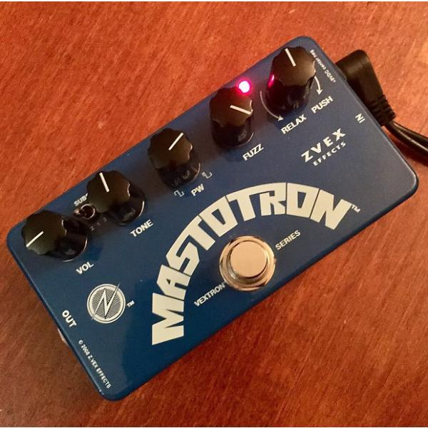 Custom ZVEX Mastotron Gated Fuzz 2017 Blue #1 image