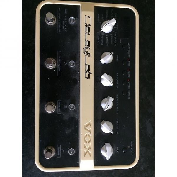 Custom Vox DelayLab Delay Modeler Dl4 Guitar Analog Digital Tape Cream #1 image