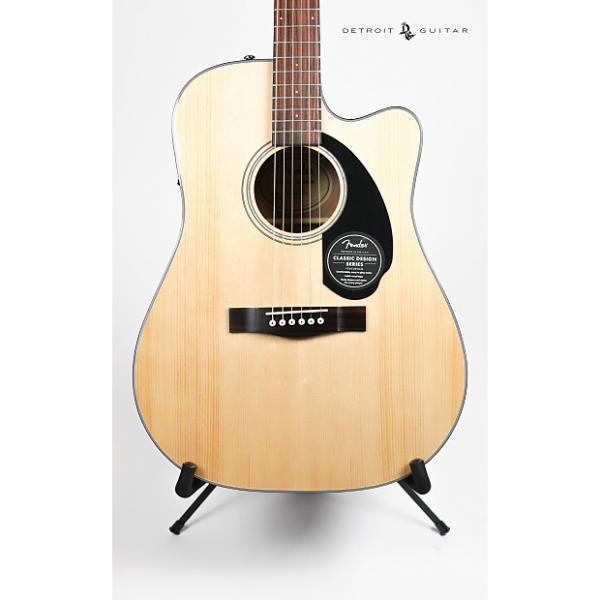 Custom Fender CD-60SCE Natural #1 image