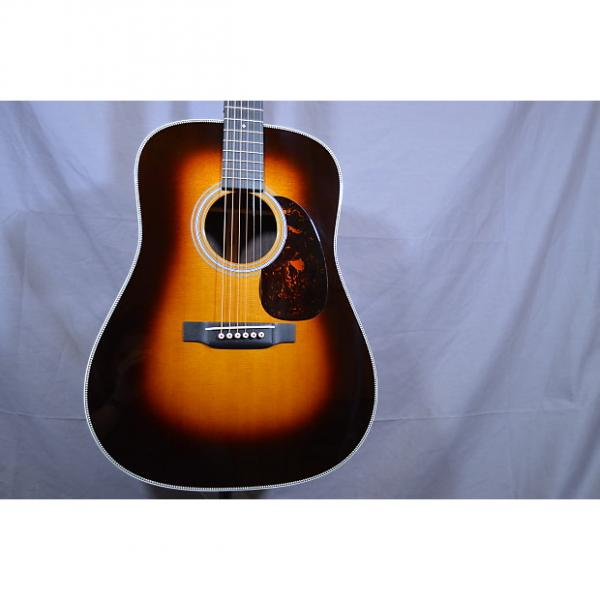 Custom Martin HD28V SUNBURST W FACTORY PICK-UP ACOUSTIC GUITAR W/WARRANTY NEW! 2017 2 Color Sunburst #1 image