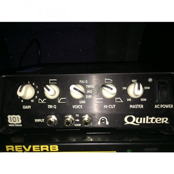 Custom Quilter 101 Mini Head 2016 Black #1 image