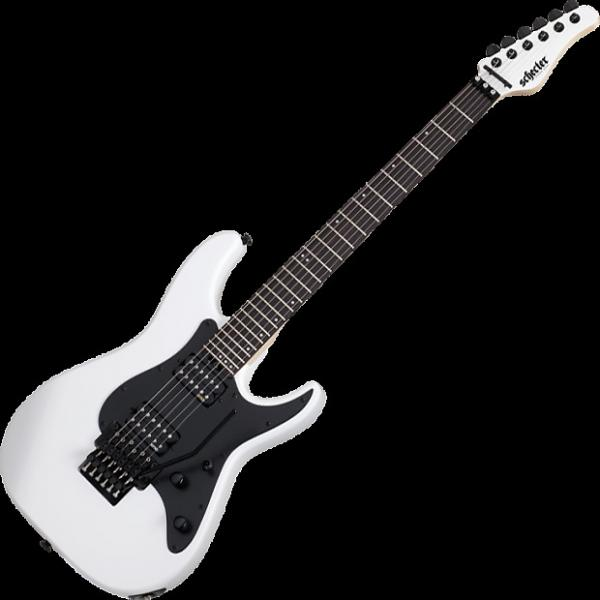 Custom Schecter Sun Valley Super Shredder FR Electric Guitar Gloss White #1 image