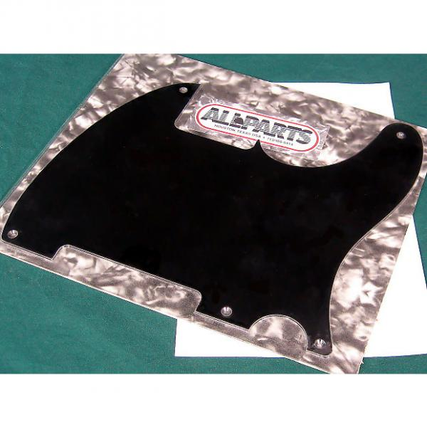 Custom Allparts Tele Esquire Pickguard Black 1-ply 5 hole #1 image