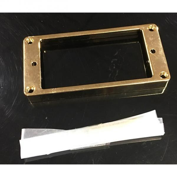 Custom Unbranded Metal Bridge Pickup Ring in Gold #1 image