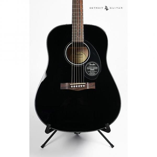 Custom Fender CD-60S Black #1 image