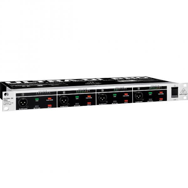Custom BEHRINGER ULTRA-DI PRO DI4000 4-Channel Rack Mount Active DI Box + Full Warranty #1 image