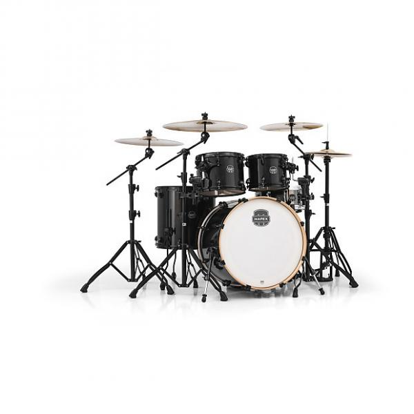 Custom Mapex Armory Series 5-Piece Jazz/Rock Shell Pack Trans Black, AR529SBTB #1 image