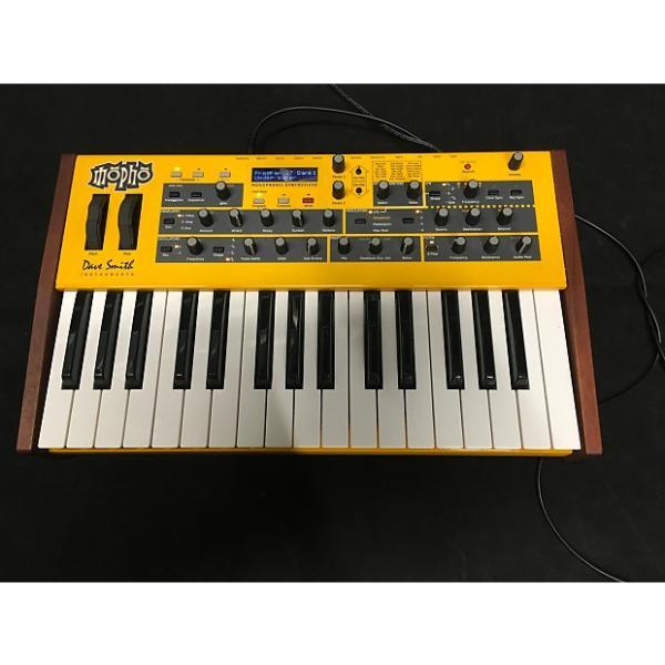 Custom Dave Smith Instruments MOPHO analog synthesizer Yellow #1 image