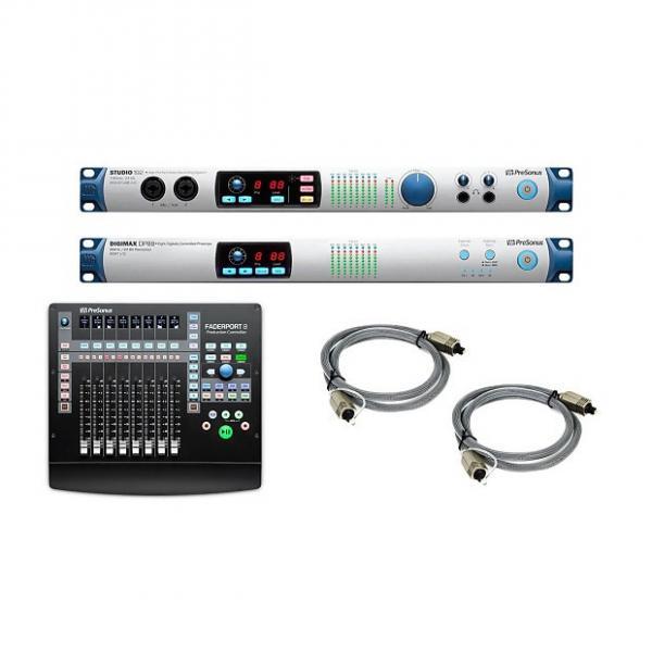 Custom PreSonus Studio 192 + Digimax DP88 & Faderport 8 Bundle #1 image