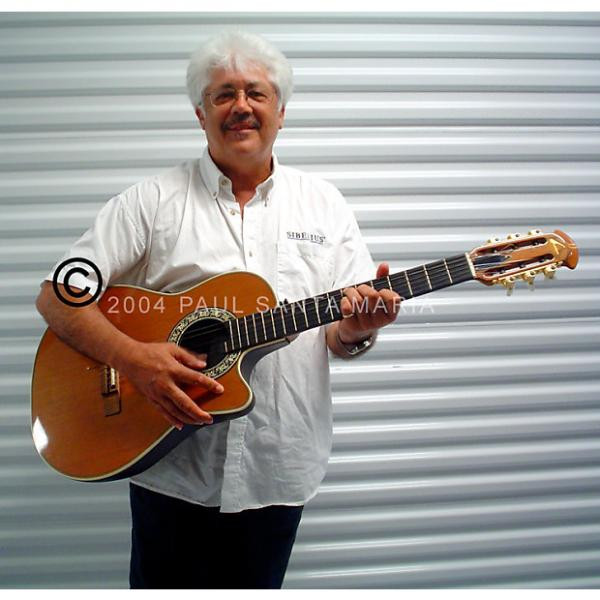 Custom Larry Coryell's Ovation 1863 Classical Electric #1 image