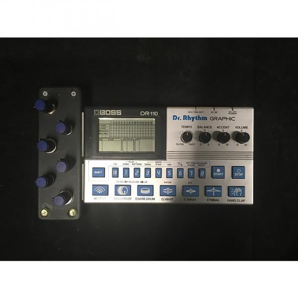 Custom Boss DR RYTHM GRAPHIC (DR-110) drum machine (modded/circuit-bent) #1 image