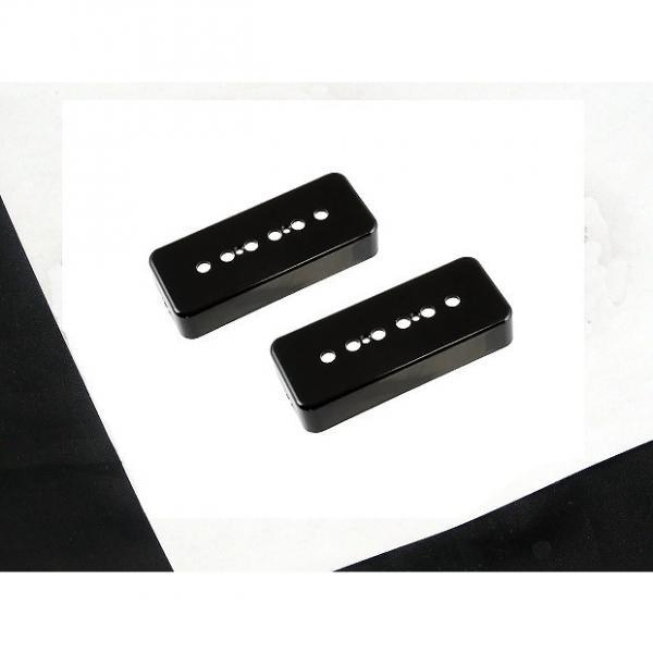 Custom Allparts P90 Soapbar Pickup Covers Set of 2 Black PC 0746-023 #1 image