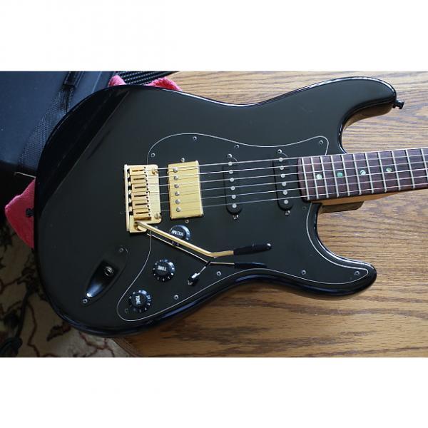 Custom Fender  Stratocaster Plus  1999 Black Gold #1 image