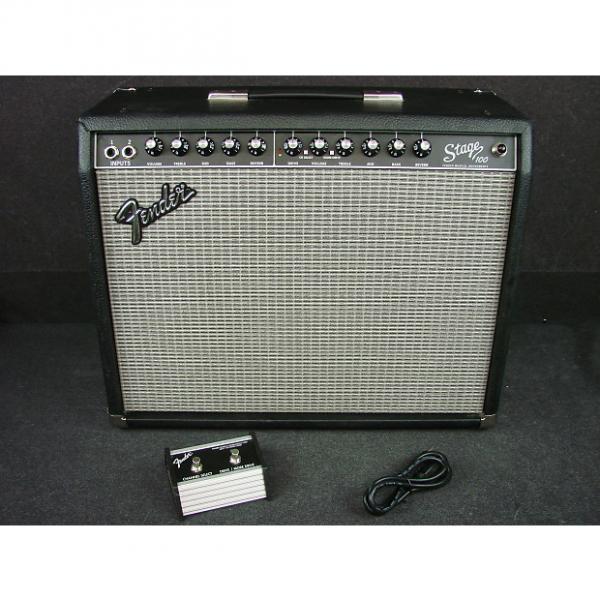 "Custom Fender Stage 100 1 x 12"" 100-Watt Solid State Combo Amplifier W/Foot Switch #1 image"