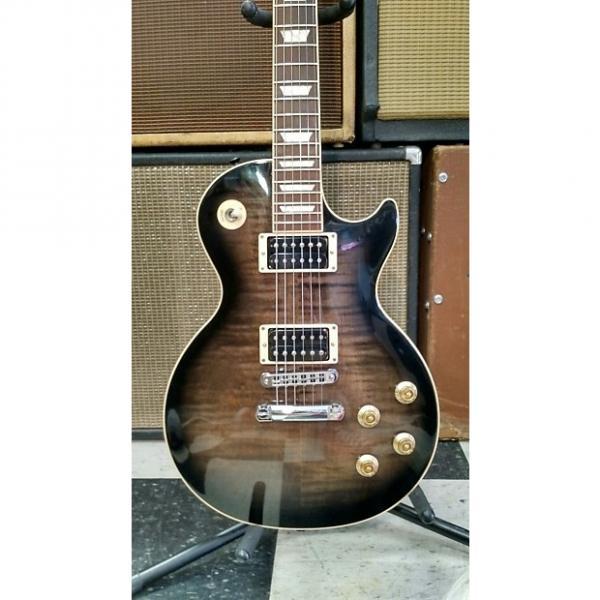 Custom Gibson Les Paul Classic  2011 Trans Ebony Burst #1 image