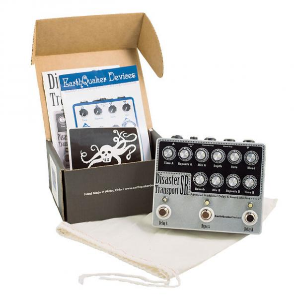 Custom Earthquaker Devices Disaster Transport Sr Delay & Reverb Pedal #1 image