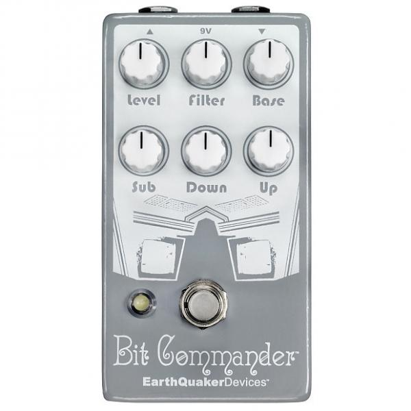 Custom Earthquaker Devices Bit Commander Octave Synth V2 Guitar Synthesizer Pedal #1 image