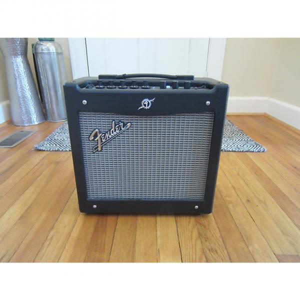 Custom Free Shipping! Fender Mustang I v.2 1x8 20W Modeling Combo Guitar Amp   Very Clean!  Sounds Great! #1 image