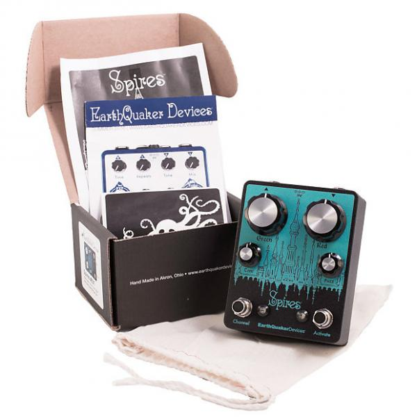 Custom Earthquaker Devices Spires Nu Face Double Fuzz Pedal #1 image
