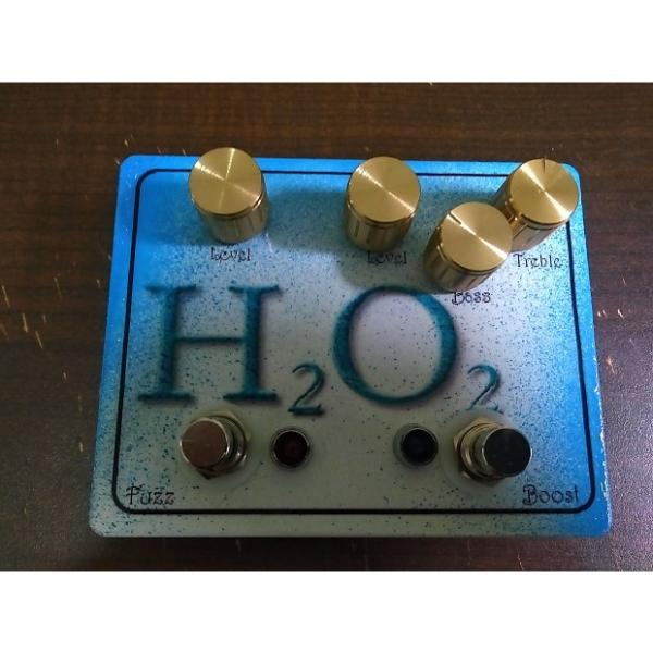 Custom SAE Effects H2O2 - dual boost eq and fuzz 2 in 1 guitar or bass pedal #1 image