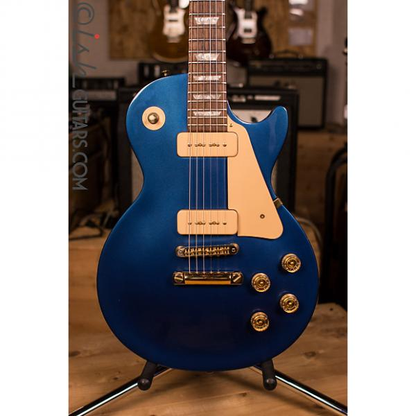 Custom Gibson Les Paul Studio GEM Sapphire Limited Edition P90 #1 image