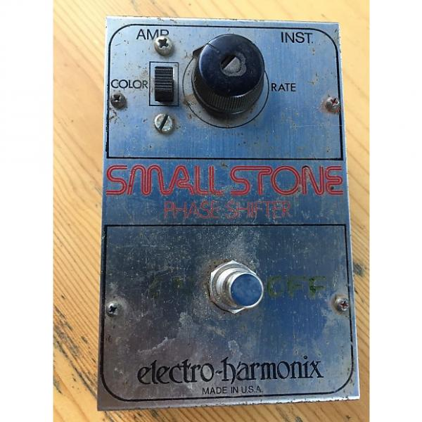 Custom Electro-Harmonix Small Stone Phaser (Vintage) 1970s Metal #1 image