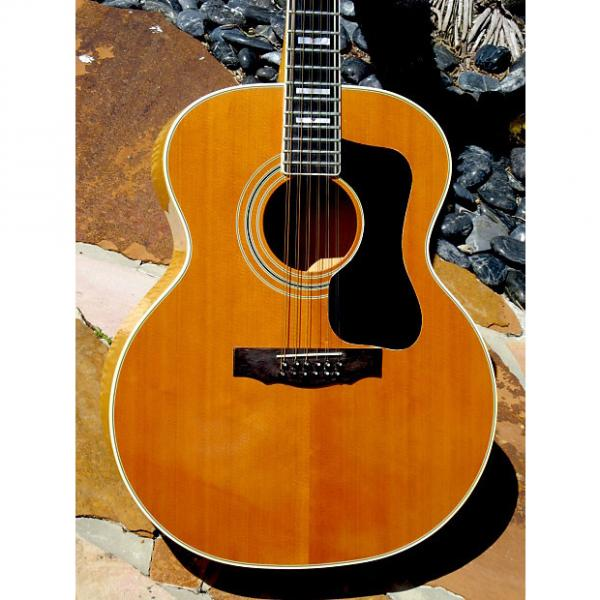 Custom Guild F-412 12-String 1977 Natural #1 image